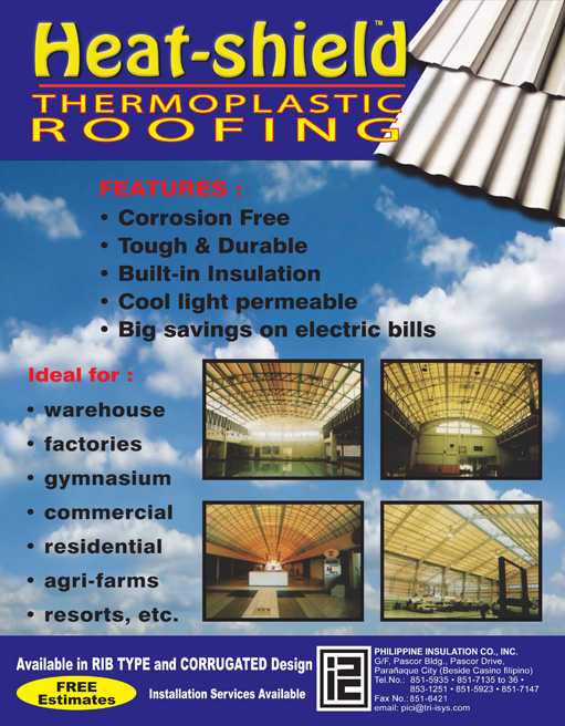 Nice Thermoplastic Roofing Sheets