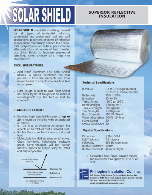 Philippine Insulation - Products